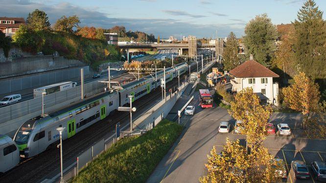 Dieses Bild zeigt die Station Niederwangen.