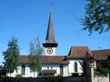 Schloss Köniz mit Kirche