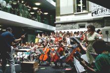 Musikschule Köniz; Aufführung Travesias, Juni 2008