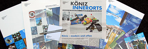 Informationsmittel Gemeinde Köniz