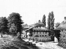 """3) """"Knabenheim auf der Grube"""" 1850"""