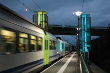 """3) Die neuen """"Türme"""" bei der S-Bahnstation"""