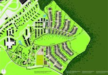 """7) Masterplan Ried 2012 = Wettbewerbsprojekt """"Papillon"""""""
