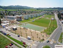 3) Liebefeld Park vor der Eröffnung, August 2009