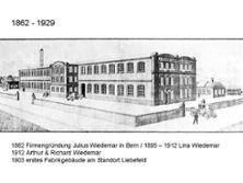1) Erstes Firmengebüde der Wiedemar AG von 1903