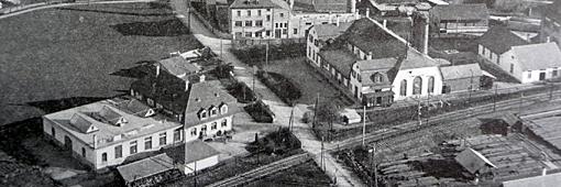 Carba-Areal, Liebefeld 1910 (Foto: Aus Buch; Köniz, Bilder aus der Vergangenheit, (Otto Büssard)