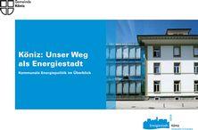 Broschüre Köniz: Unser Weg als Energiestadt