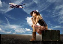 In die Ferien mit dem Flugzeug